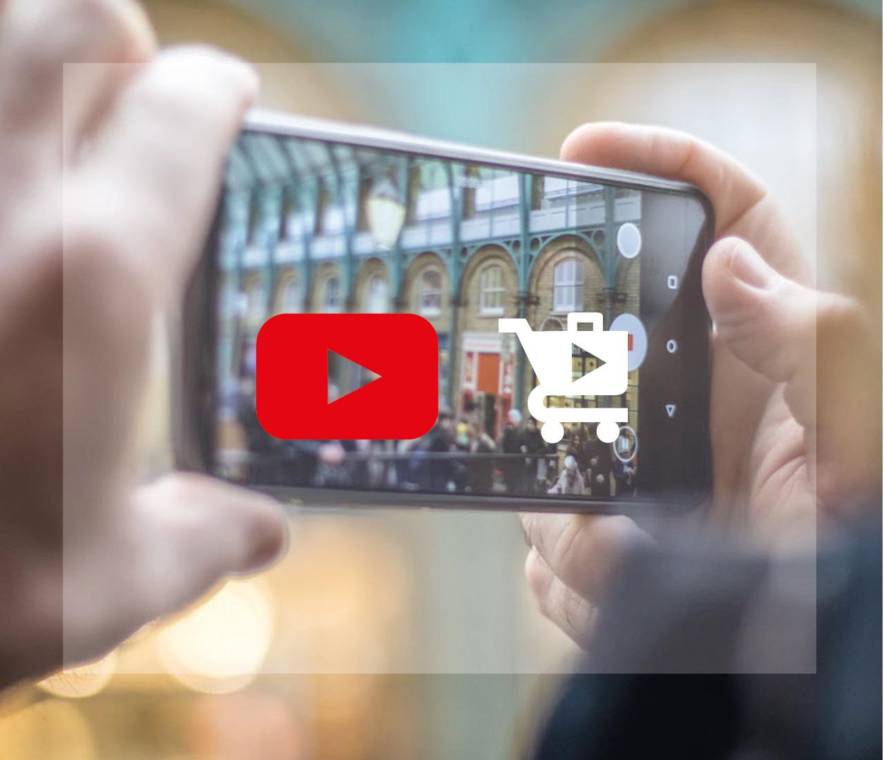 E-commerce su piattaforma YouTube