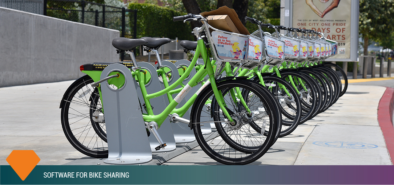 software bike sharing