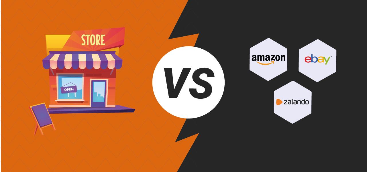 ecommerce proprietario vs marketplace
